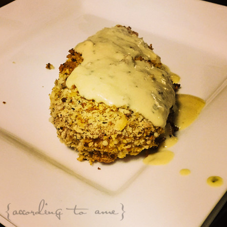 Must Try ::: Panko Chicken with Dijon Cream